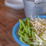 44931542 - fresh vegetables - bean sprouts, bean, cabbage