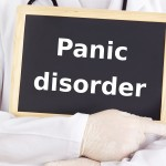 16077907 - doctor shows information: panic disorder
