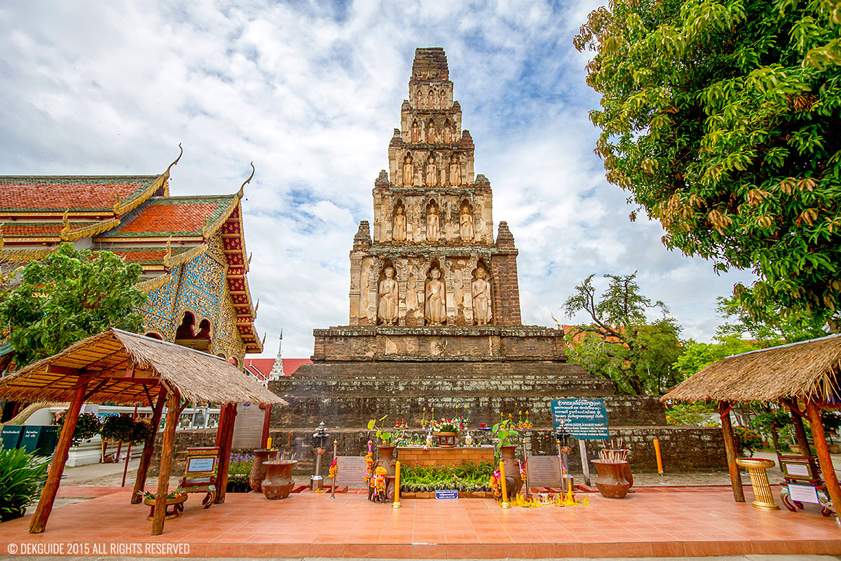 Wat Jham dhevee - Lumphoon Thailand